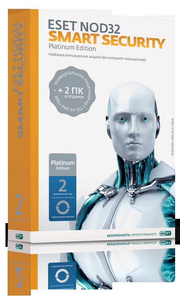 купить продление антивируса eset nod32 smart security на 3 пк